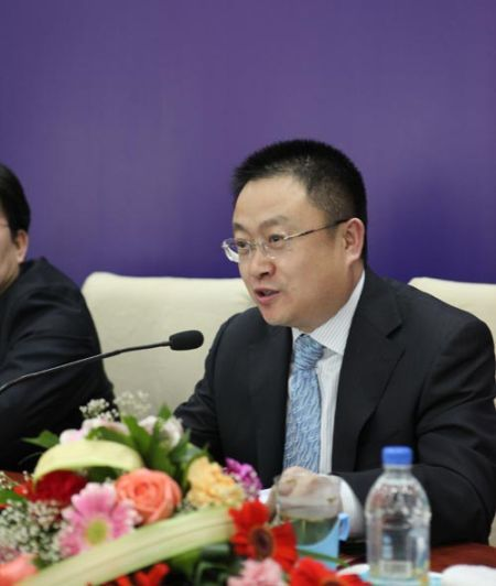 图为原呼市铁路局原副局长马俊飞。(资料图)
