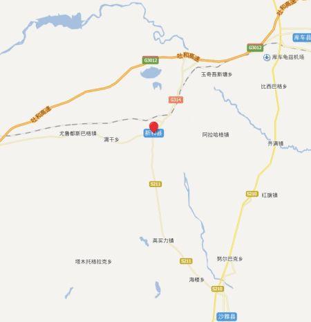 阿克苏地区新和县城