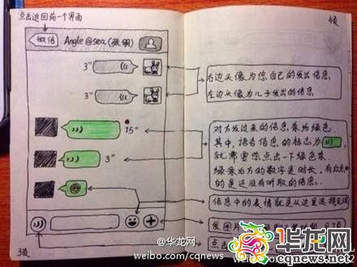 父母不会微信怎么办?+85后手绘教程网友齐点