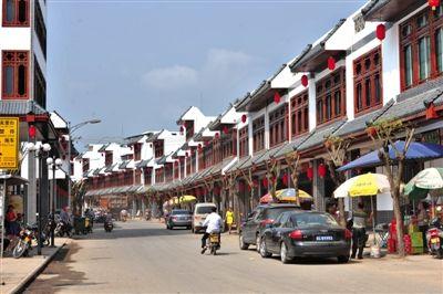 2014年3月16日,海南琼海市,正在进行城镇化改造的万泉镇新貌。图/CFP