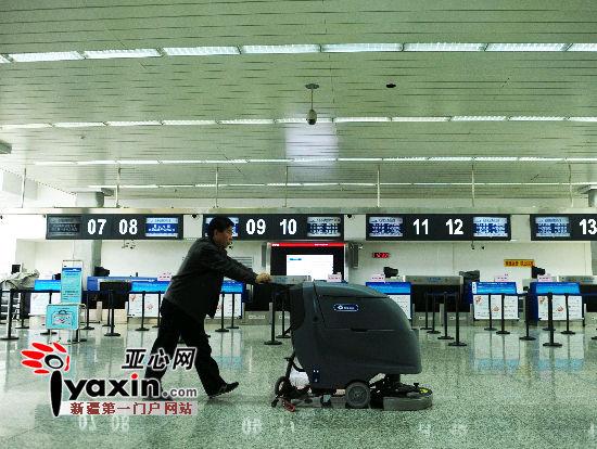 乌鲁木齐国际机场T1航站楼启用7家航空公司在此运营