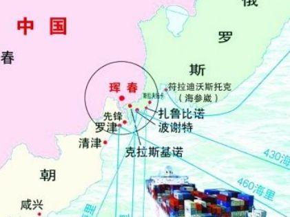 中国将与俄罗斯合建扎鲁比诺海港(图)-内地