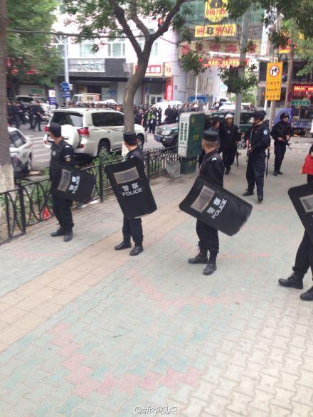 新疆5.22暴恐案造成重大人员伤亡 公安部长赶