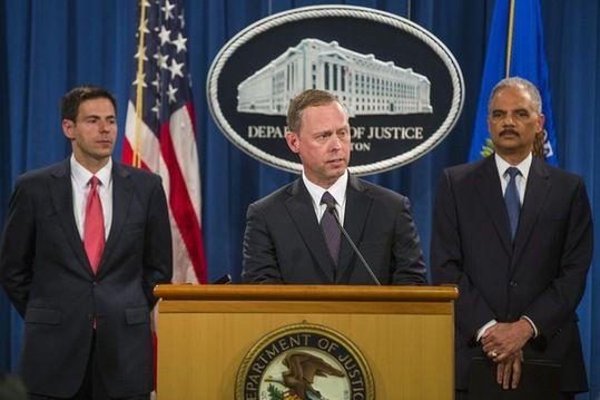 美国司法部起诉5名中国军人通过网络窃取美国公司的商业机密。(图片来源:澳大利亚媒体)