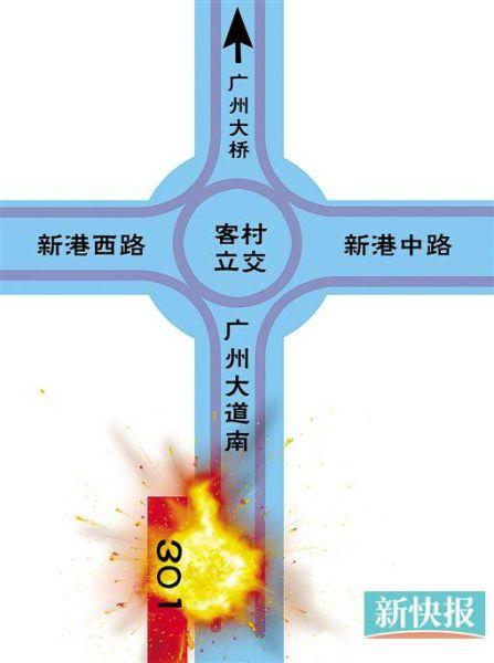 广州公交燃烧案目击者:火球有两三层楼高|广州