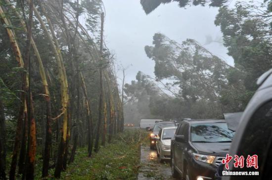 """超强台风""""威马逊""""来袭南航取消百余航班"""
