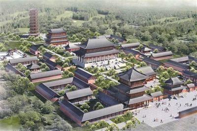 少林寺澳大利亚分寺构想图。