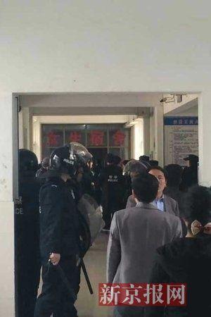 安徽工大一男子校内持刀劫持女生 已被警方控制图片