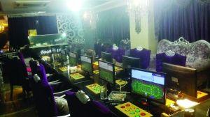 这个地下赌场是人跟机械赌,一局胜正数千元 警方供图