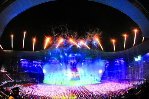 图文:全国民运会在广州开幕