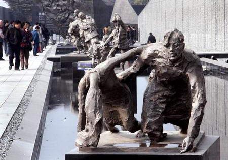 组图:南京大屠杀纪念馆新馆即将竣工