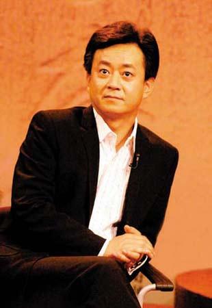 中央电视台主持人朱军