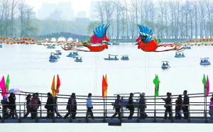 组图:北京迎来首个清明假日