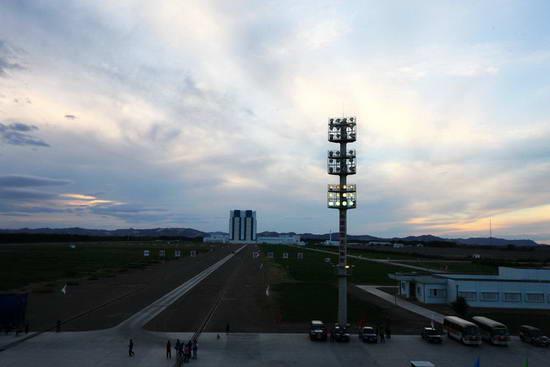 东风航天城生活区内共生活了3万多人