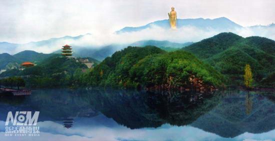 图文:中国河南省鲁山县佛泉寺