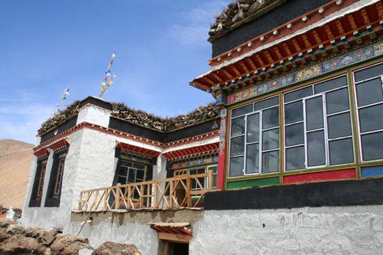 图文:传统的藏式民居图片