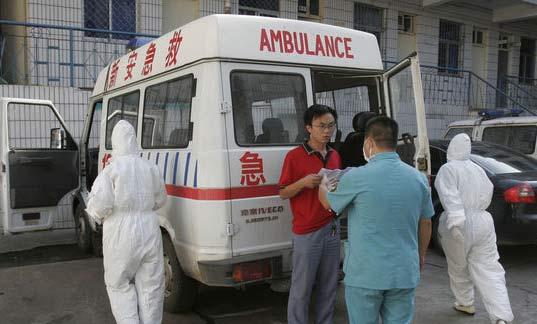 河南新安县第三高级中学确诊80例甲型流感