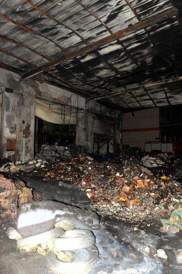 山东临沂化学物品爆燃18人死亡10人受伤(组图)