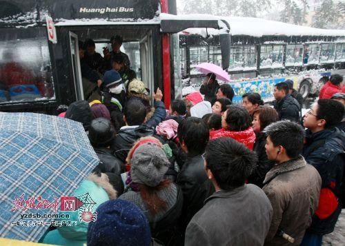 10年前的清远公共汽车-图文 拥挤的公交车高清图片