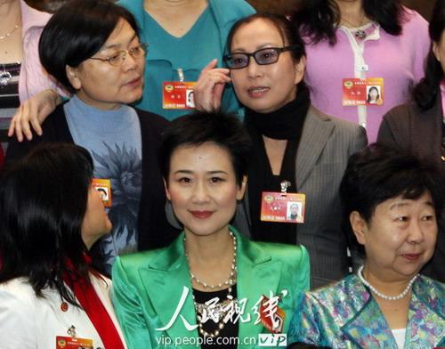 图文:妇联界政协委员合影