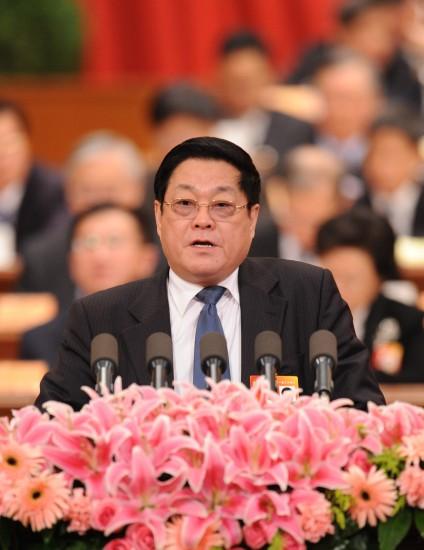 图文:修福金委员代表民革中央发言