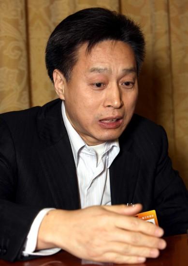 图文:全国政协委员林宗寿发言