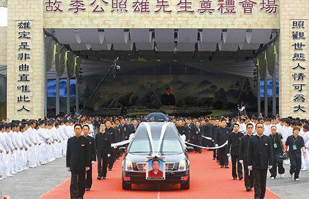 台黑道教父出殡2万人致祭马来西亚总统派特使