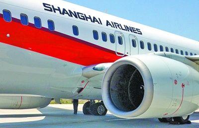 飞机左翼两个轮胎明显瘪了下去。记者王翮 翻拍