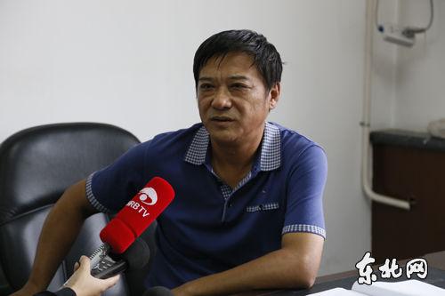 王大伟回答记者提问。东北网记者 魏义松 摄