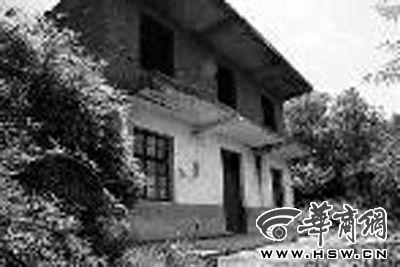 """位于湖南省衡阳市衡南县香花村的""""秦火火""""家。"""