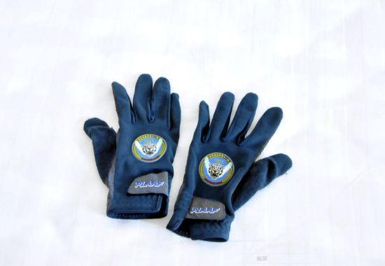 飞行员专用手套。 新华军网记者杨茹摄