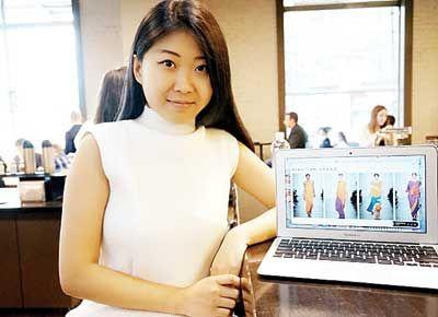 装周的华裔女生张小田