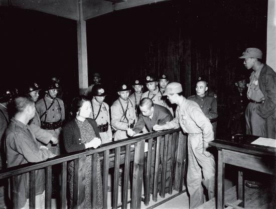 1950年吴石案四人聆听判决