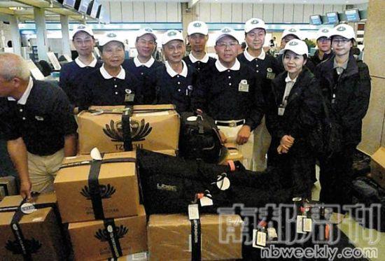 汶川地震后第三天,台湾佛教慈济基金会首批救援物资已经运送到桃园机场,46吨的救济物资将直飞成都双流机场