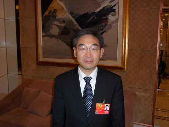 全国政协委员、九三学社中央副主席、农业部副部长张桃林两会图片