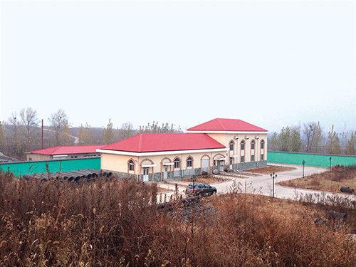 2014年11月14日,记者拍摄到的马超群的别墅。