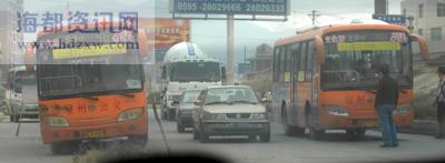 46路公交多次遭拦截