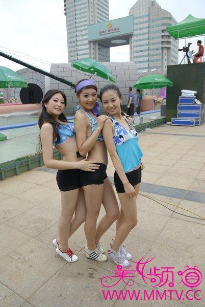 广西卫视泳装秀2017年