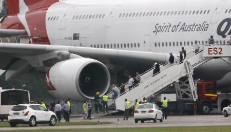 此后有报道称这架飞机坠毁;但根据新加坡当地媒体