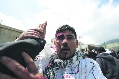 黎以边界爆发冲突4名示威者遭以军射杀