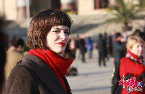 11月8日,十八大开幕会上的记者。中国网 董德摄影