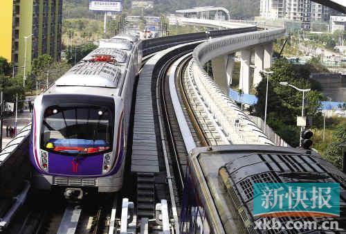 广州地铁六号线试运营逾15万人次尝鲜明日迎考验