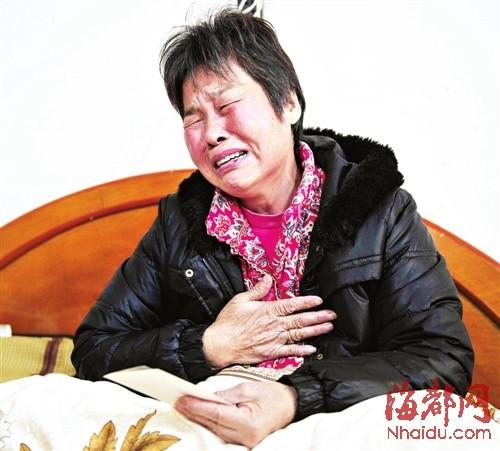 林敏和丈夫的结婚照 林敏的母亲痛不欲生,看着女儿