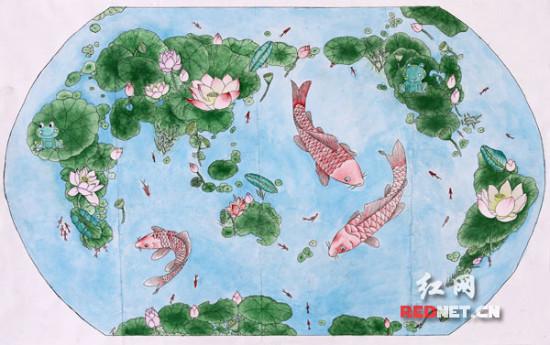湖南勇夺全国少儿手绘地图大赛两枚金牌 排第一