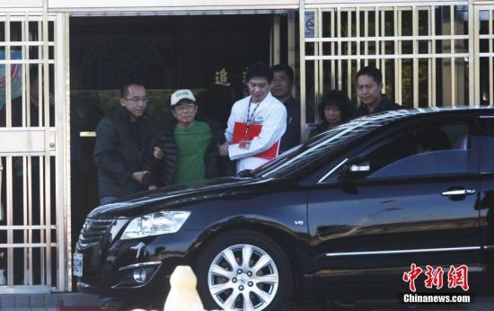 陈水扁获准保外就医狱方管理员:总算解脱了