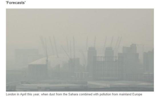 90%中国城市空气质量不达标 保定空气污染最