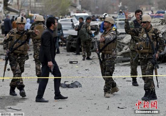 阿富汗东部遭自杀爆破突击致22死50伤
