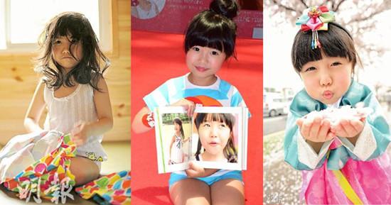 6岁的杨铠凝今年书展推出卖萌写真集。资料图来源:香港《明报》