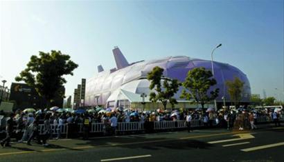 游客点评世博展馆建筑:中国国家馆最宏伟