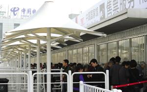 中国馆延展期间游客仍需接受安检